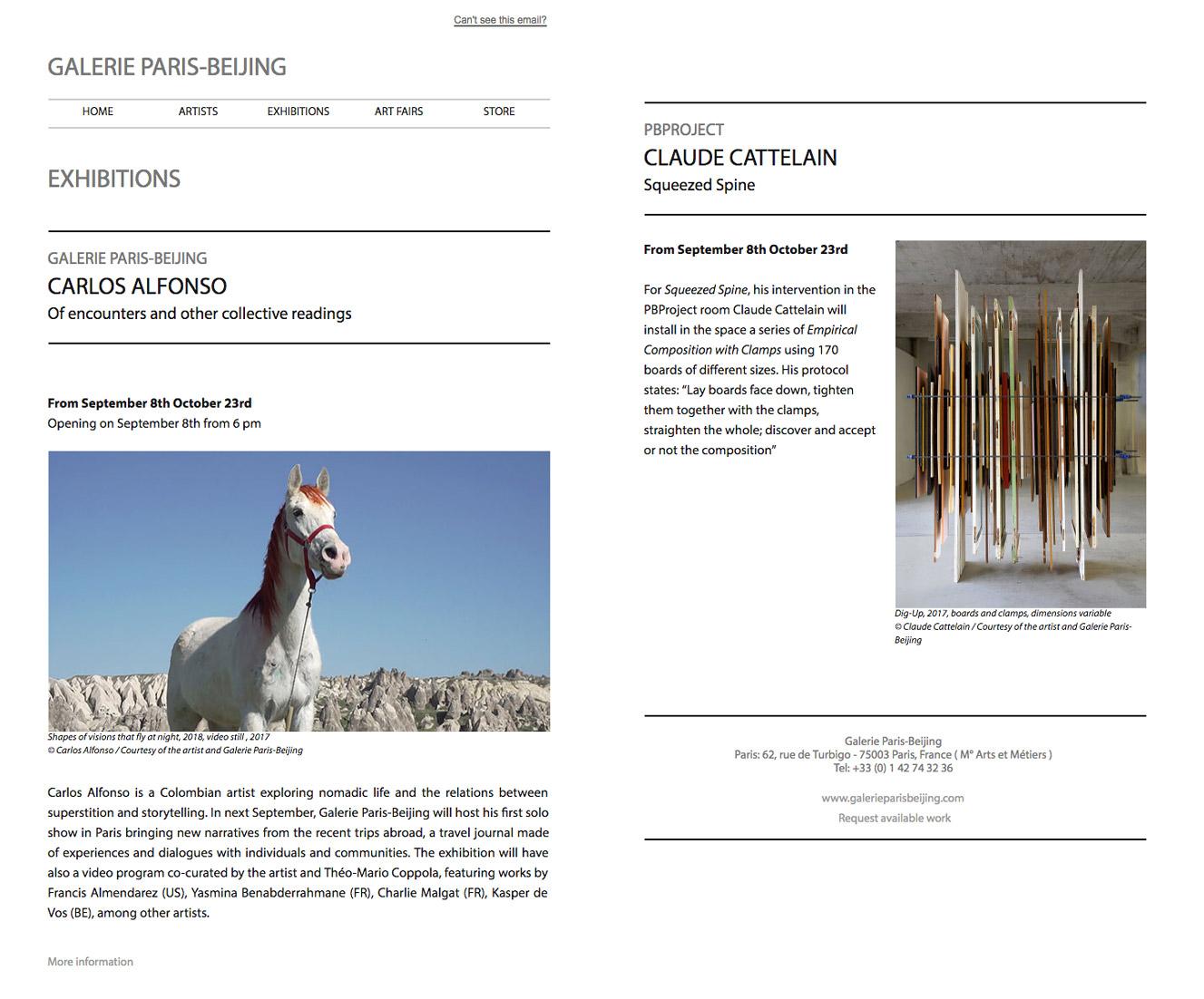 Galerie Paris Beijing - Galerie D'art Paris